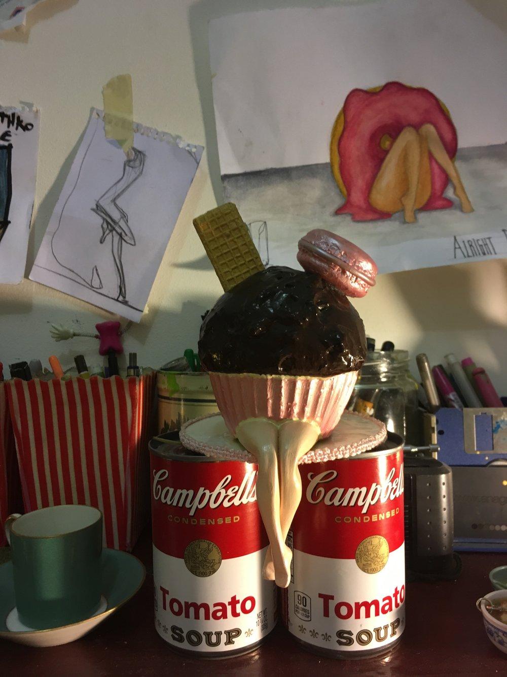 Miss Cupcake © Camila Valdez photo V.Achouch