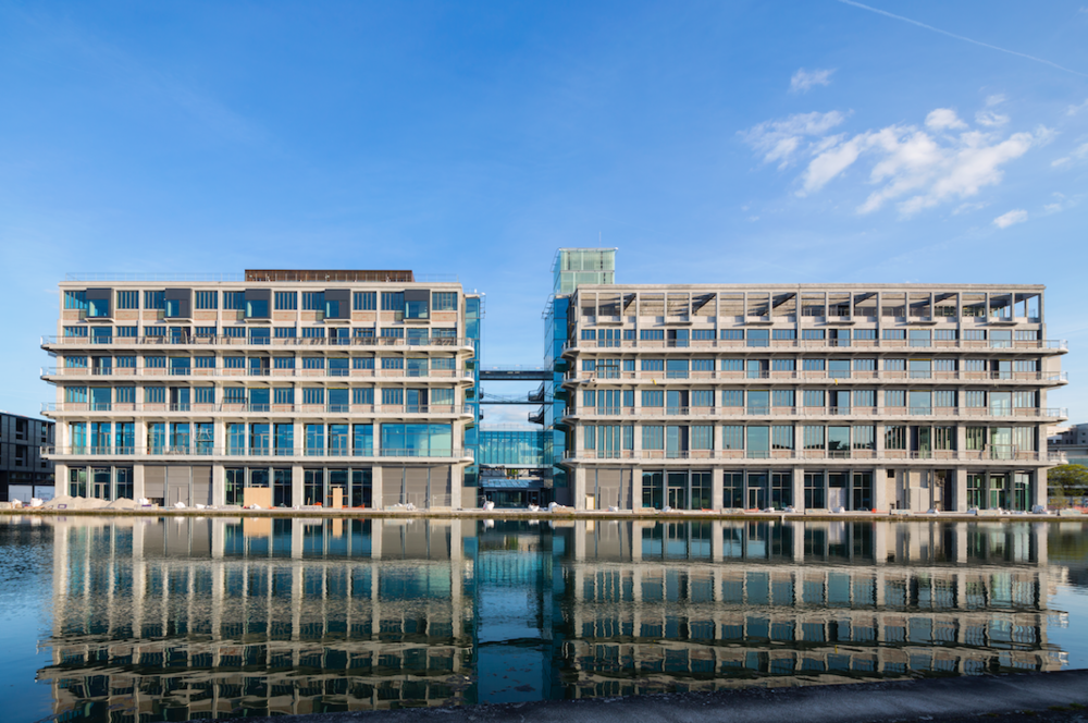Les Magasins Généraux - in Pantin - siège de BETC - may 2016 © Hervé Abbadie