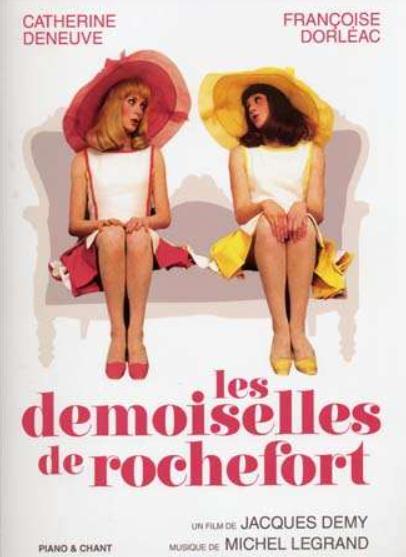 """Les demoiselles de Rochefort de Jacques Demy - """"Duas Garotas Românticas"""" no Festival Varilux de Cinema  Francês"""