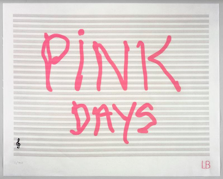 Pink Days, 2008 © Louise Bourgeois