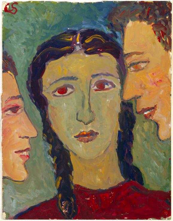 Charlotte Salomon, Gouache uit Leven? of Theater?, 1940-1942. Collectie Joods Historisch Museum, Amsterdam © Stichting Charlotte Salomon