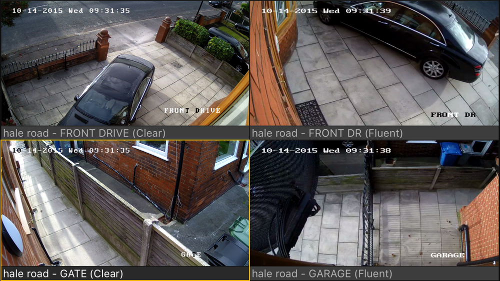 CCTV camera system for hale altrincham manchester