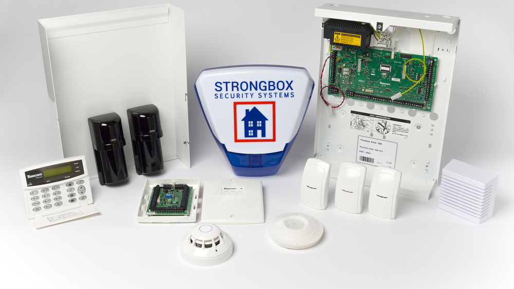 intruder alarm system equipment