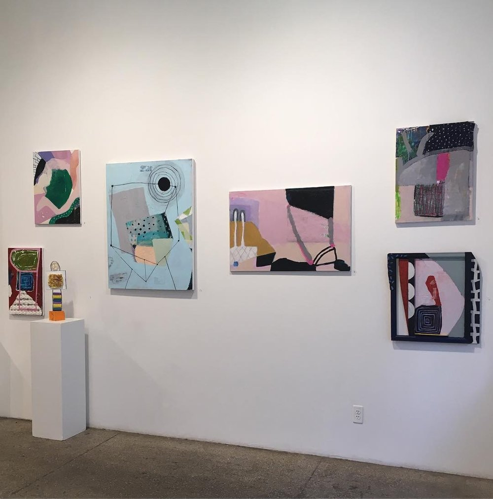 """Pop-Up, On & Off the Wall""  at The First Street Gallery, 2018"