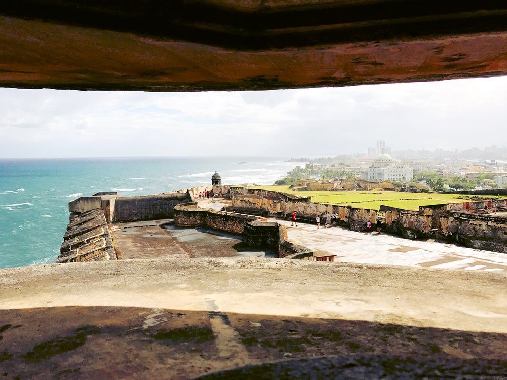 Picture of Old San Juan taken from El Morro.