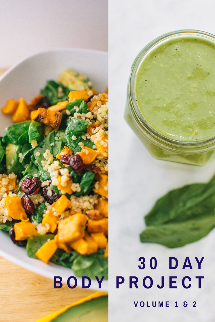 30 day body project bundle