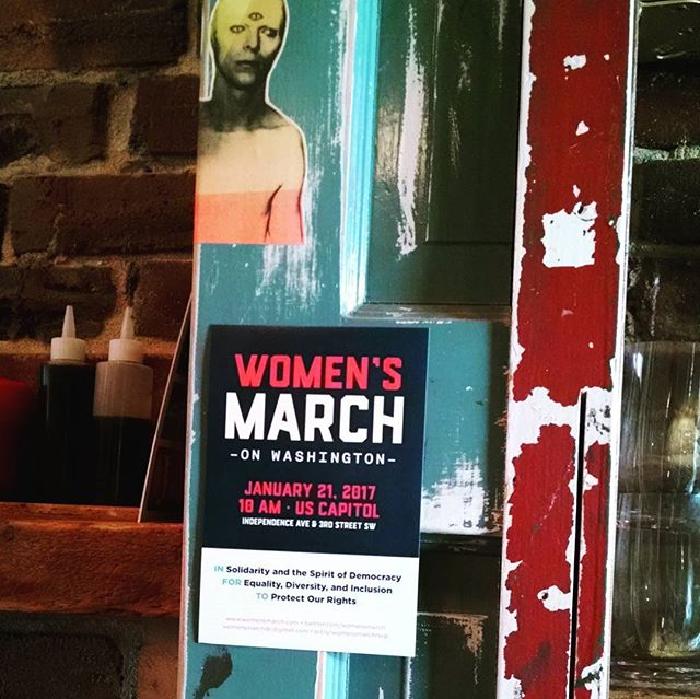 We will be CLOSED Saturday, Jan. 21 to attend The Women's March on Washington! Then a private party in the evening. Onward, 2017! #chaokudc #shawdc #shawmainstreets #supportyourlocalgirlgang