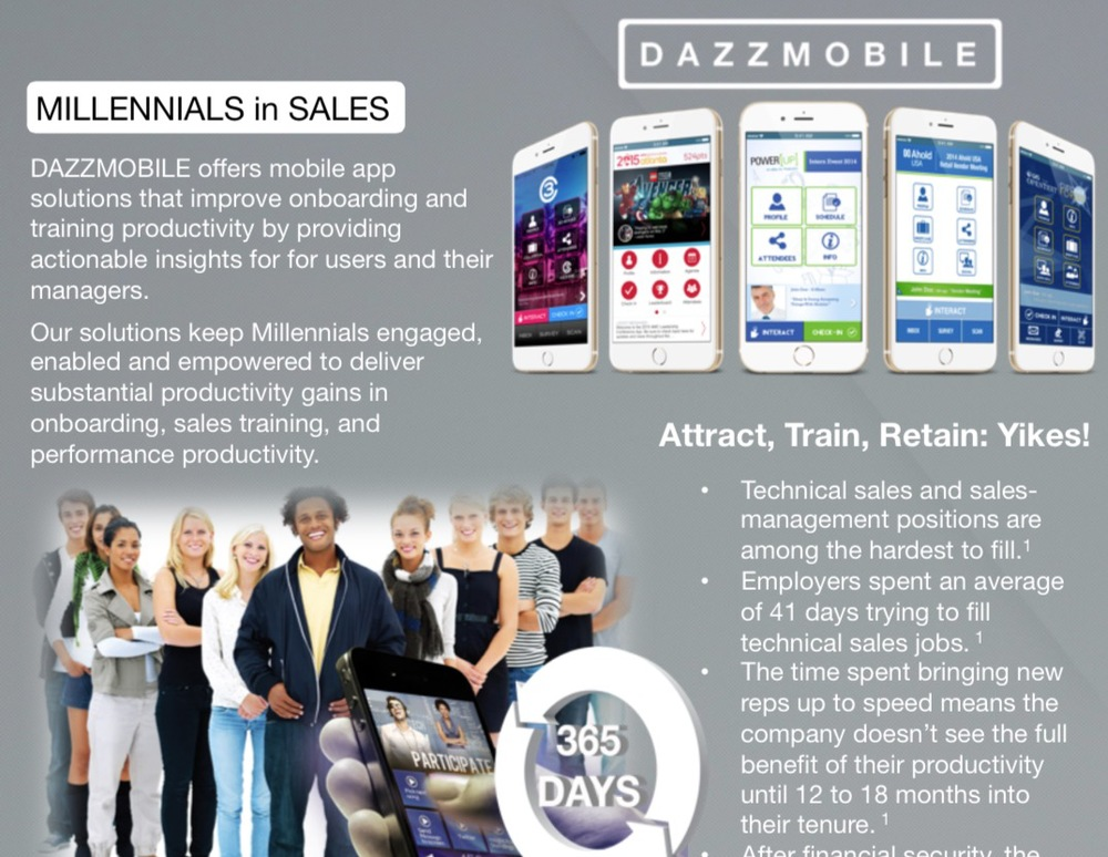 Millennials in Sales 2-pager - Click to view/Download