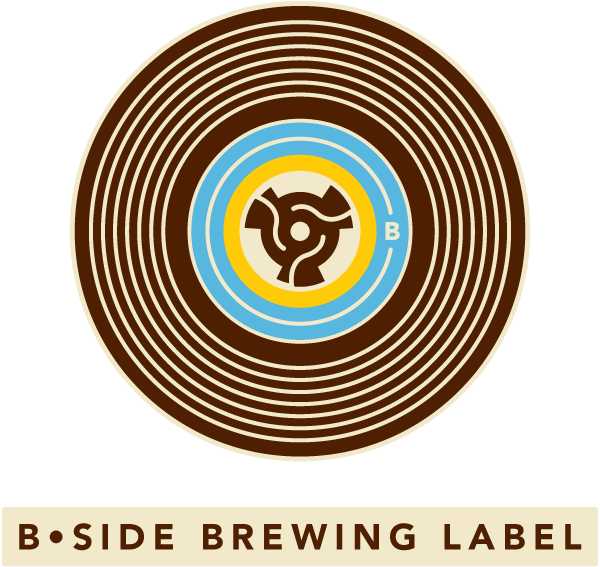 B-Side Brewing Label