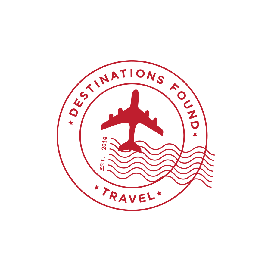 COMPANY  // Freelance  CLIENT  // Destinations Found Travel  Custom Logo Design & Development