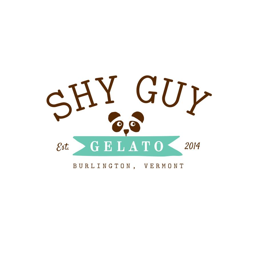 COMPANY  // Freelance  CLIENT  // Shy Guy Gelato //  shyguygelato.com   Custom Logo Design & Development
