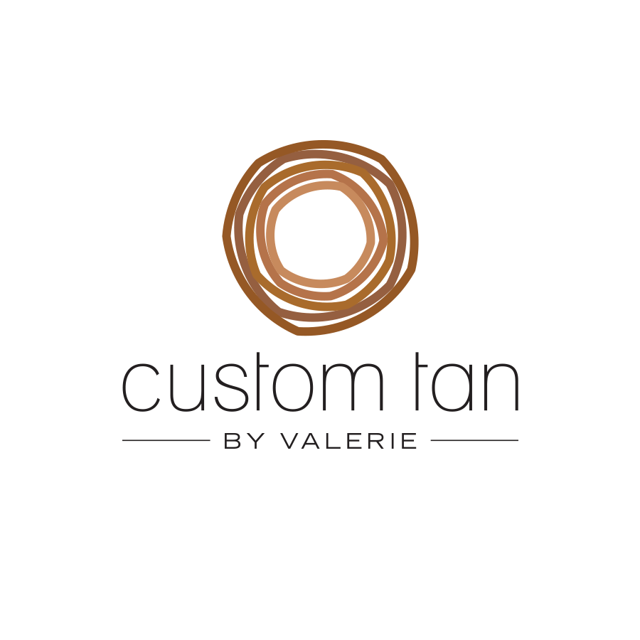 COMPANY  // Freelance  CLIENT  // Custom Tan by Valerie  Custom Logo Design & Development
