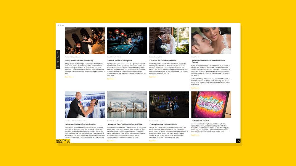 Muñoz Photography Website Showcase 5