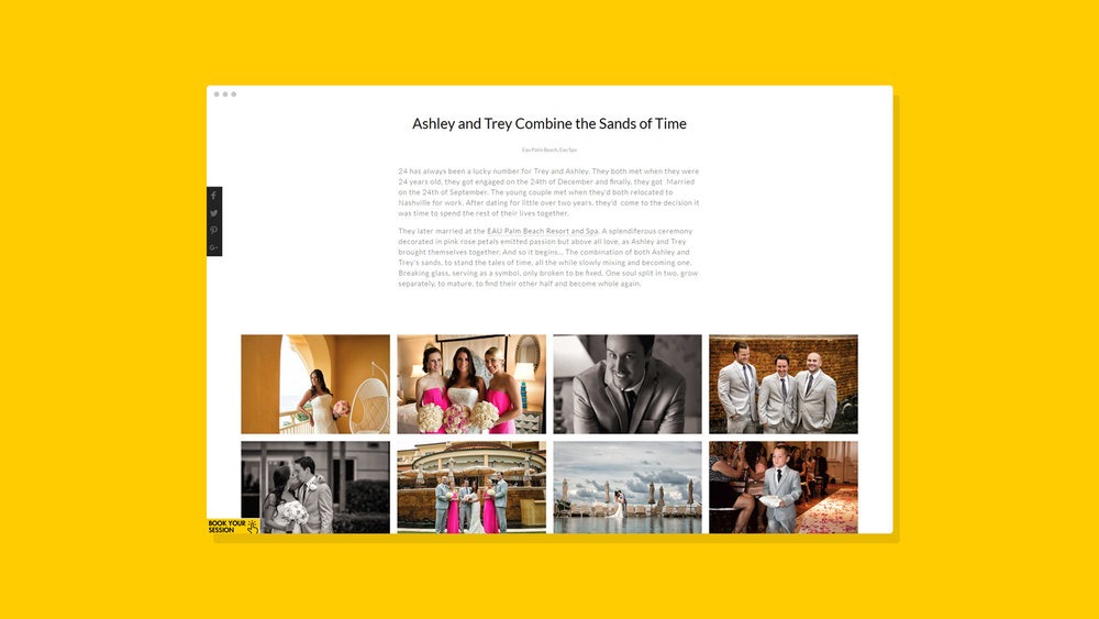 Muñoz Photography Website Showcase 6