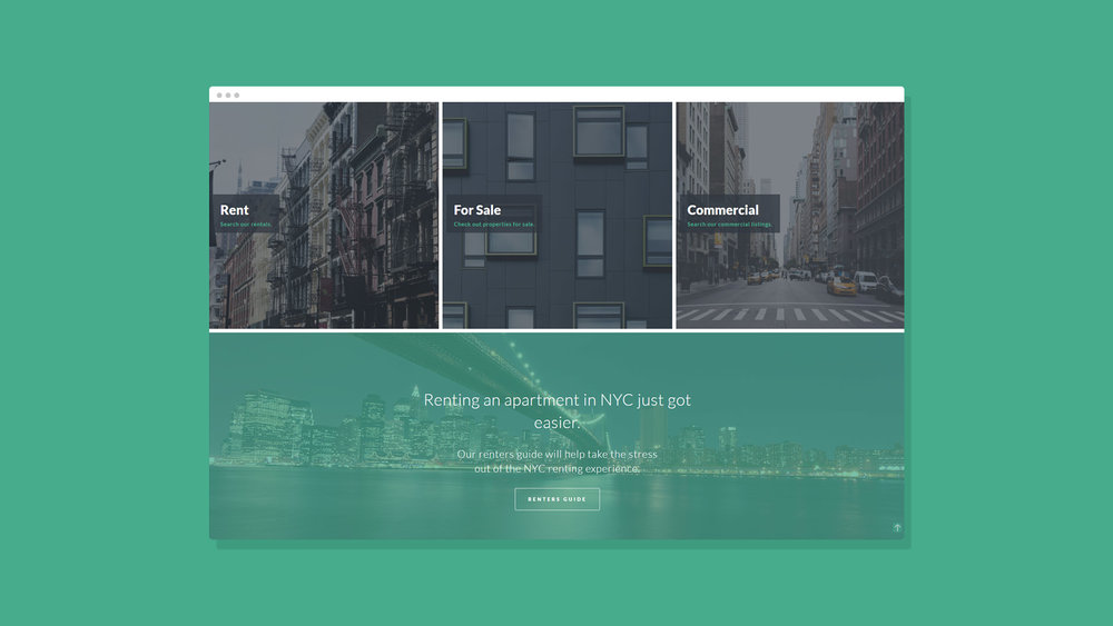 Robles Group NYC Website Showcase 2