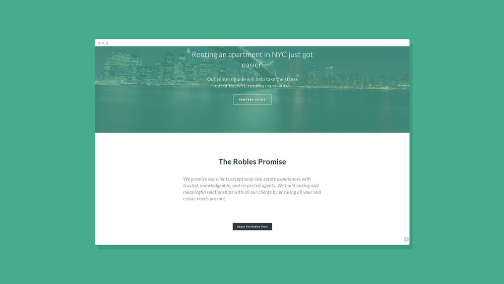 Robles Group NYC Website Showcase 3