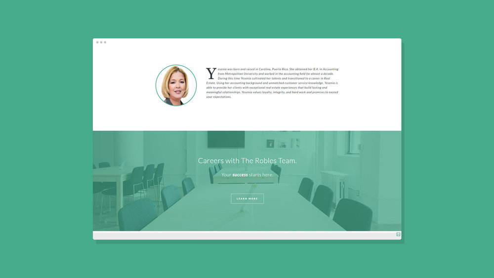 Robles Group NYC Website Showcase4