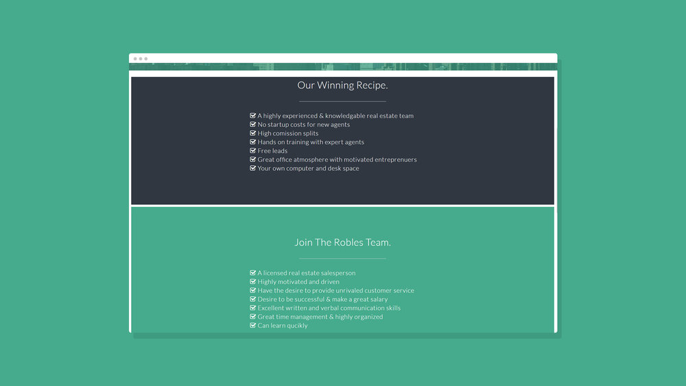 Robles Group NYC Website Showcase 13