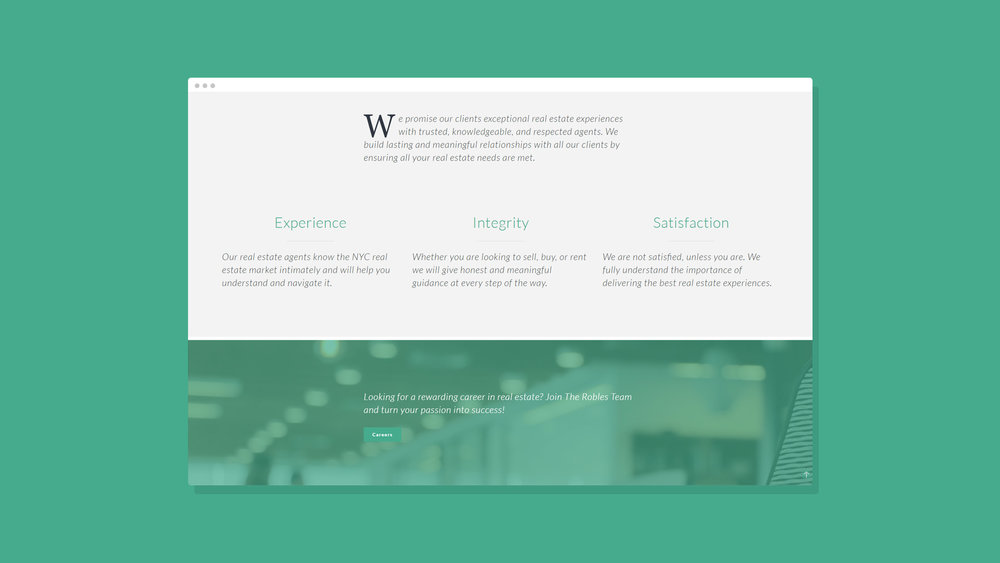 Robles Group NYC Website Showcase 15