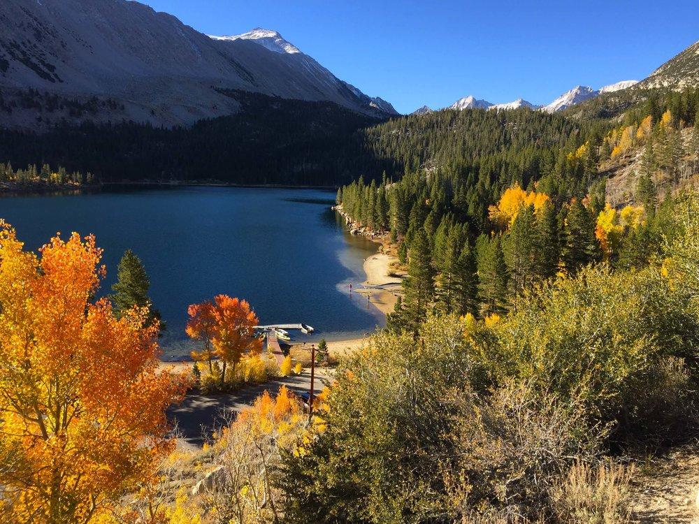 Rock Creek Lake in the Fall.