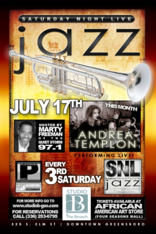 Saturday Night Jazz at Studio B
