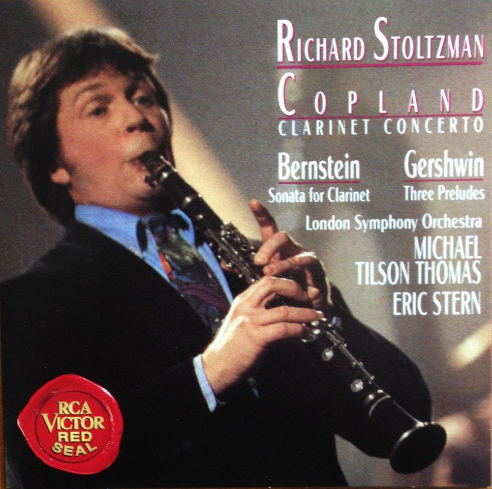 RS CD #26 Bernstein Sonata front