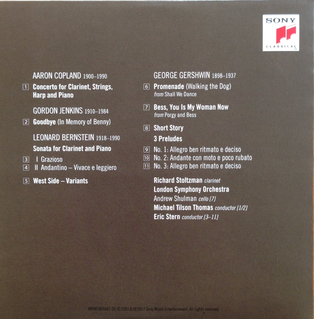 RS CD #26 Bernstein Sonata back