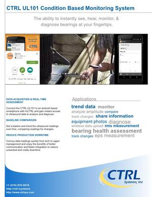 datasheet: UL101 CBM System