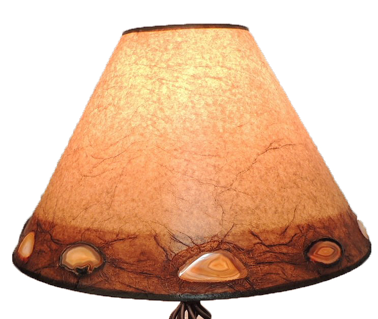 LRW-B-A4 AGATE BAND SHADE WITH BOTTOM PLACEMENT 21DIA X 13.5H.JPG