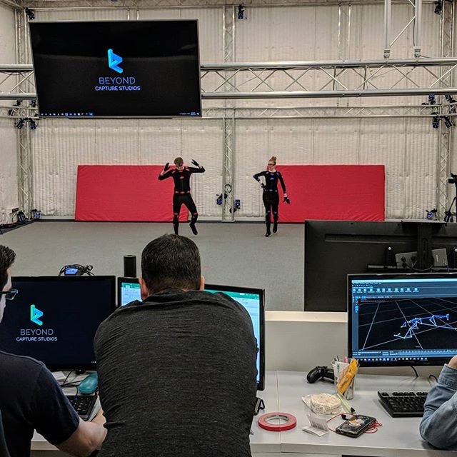 Make that ball bounce! @beyondcapturestudios #mocap #werkwerkwerk