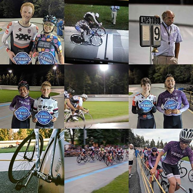What a great year with great people!! Thanks to everyone who came out to watch,train and race  with us this season! Can't wait to see what 2019 brings! . . . . @nb_parks #trackcycling #cycling #track #fixedgear #bestnine2018 #bestnine