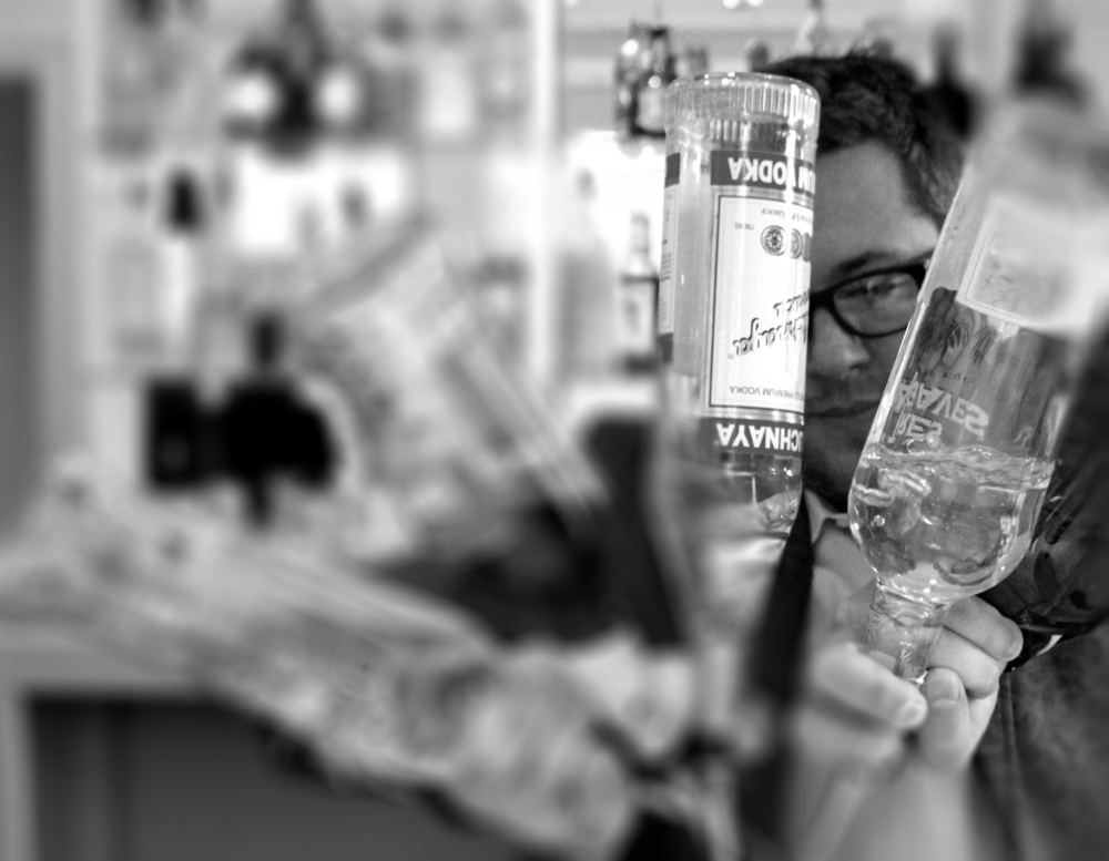 Jeff Bowell,  Visiting Mixologist