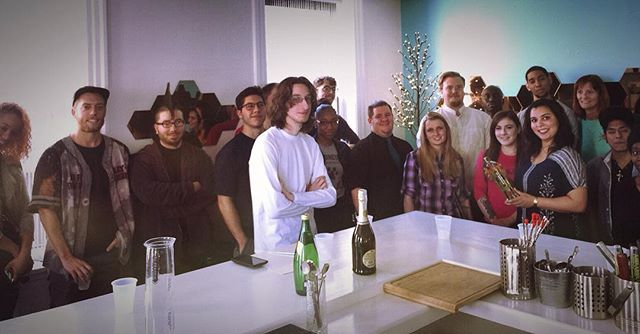 Aqua Vitae Institute is the only center #worldwide dedicated to #alcohol #education and responsible #drinking and #serving on both sides of the #bar! Thanks to @mariepiraino and @stgermaindrinks for an amazing PACKED class! #SantéFrancaisCouramment #StGermain #DrinkFrenchFluently #AquaVitaeInstitute