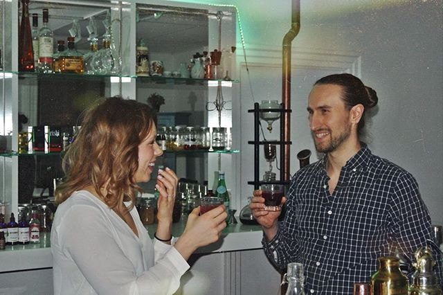 Aqua Vitae Institute is the only center #worldwide dedicated to #alcohol #education and responsible #drinking and #serving on both sides of the #bar! #Throwback to hosting a couple event! The event was filled with laughter and beautifully concocted #CraftCocktails for their significant other. One of the best things about #bartending is being apart of a special moment between two couples and creating an atmosphere for them to reconnect and enjoy their time together. #CocktailOClock #PhillyDrink