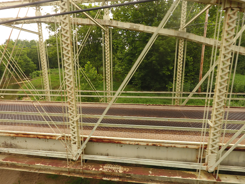 Truss bridge - partial
