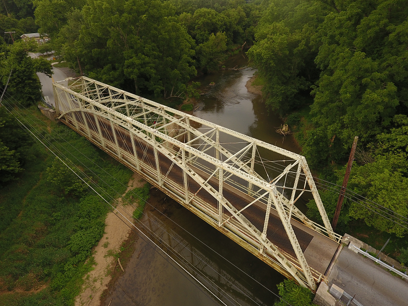 Truss bridge - full