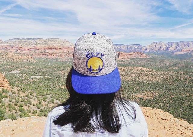 Ready for game 2!  #warriors #goldenstatewarriors #thecity #goldenstate #nba #playoffs #portland #trailblazers #lockedin #arizona #sedona #vacation #travel #traveldiaries #wanderlust