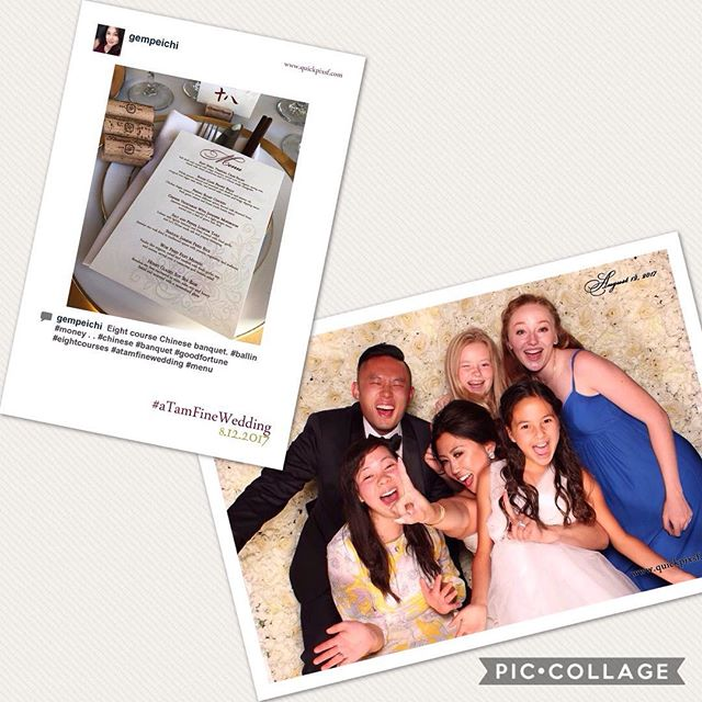 Saturday's gorgeous wedding at @thomasfogartywinery!  #quickpixsf #quickprint #photobooth #hashtagprinting #wedding #love #thomasfogartywinery #thomasfogartywedding