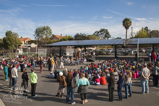 Solar power at elementary school