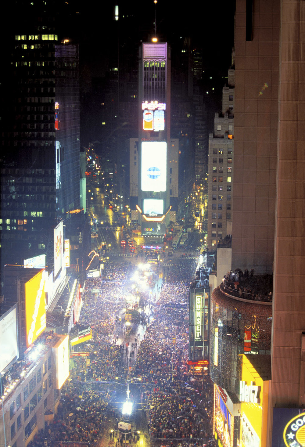 New Year's Eve, Times Square, Manhattan, New York
