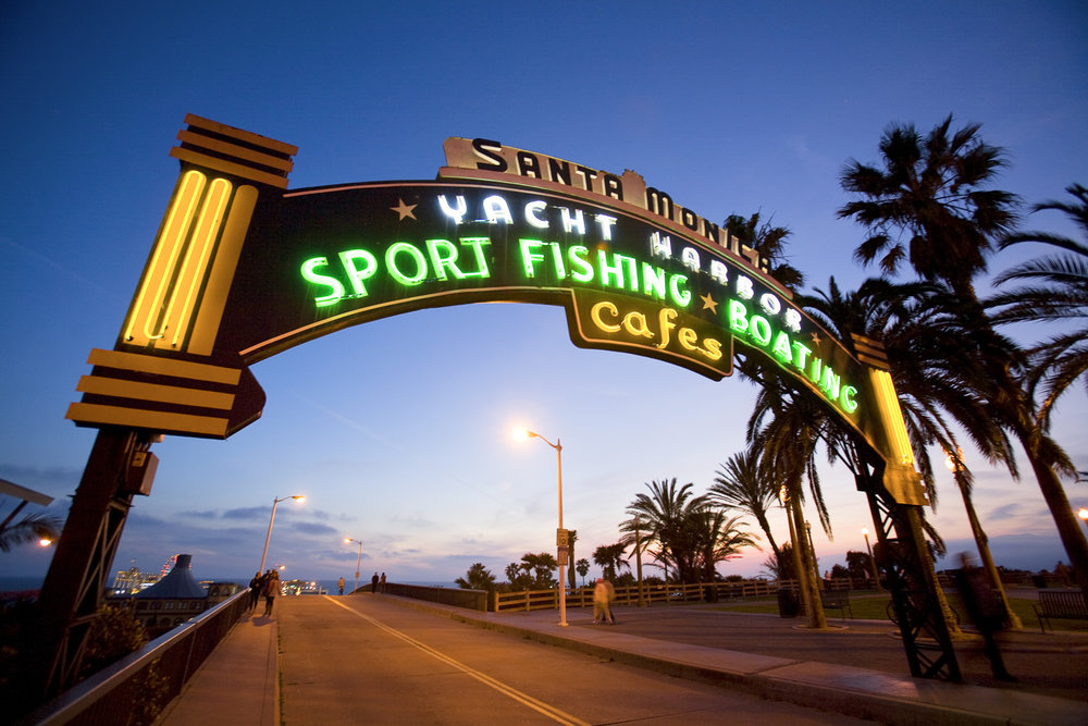 Santa Monica Pier, Los Angeles, California, USA
