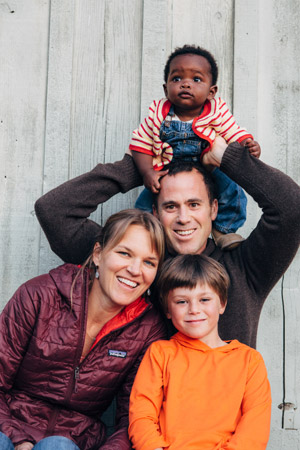 """Collaborating with the Foodbank to have the produce that our local farmers grow reach a greater cross-section of Santa Barbara County is wonderful and helps us fulfill Harvest Santa Barbara's mission."" - Jasper & Brook Eiler (and family), Harvest Santa Barbara"