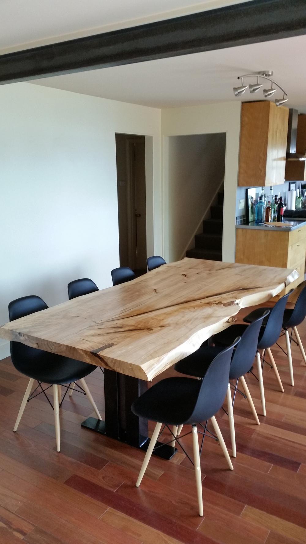 Captivating LOMBARDY POPLAR DINING TABLE