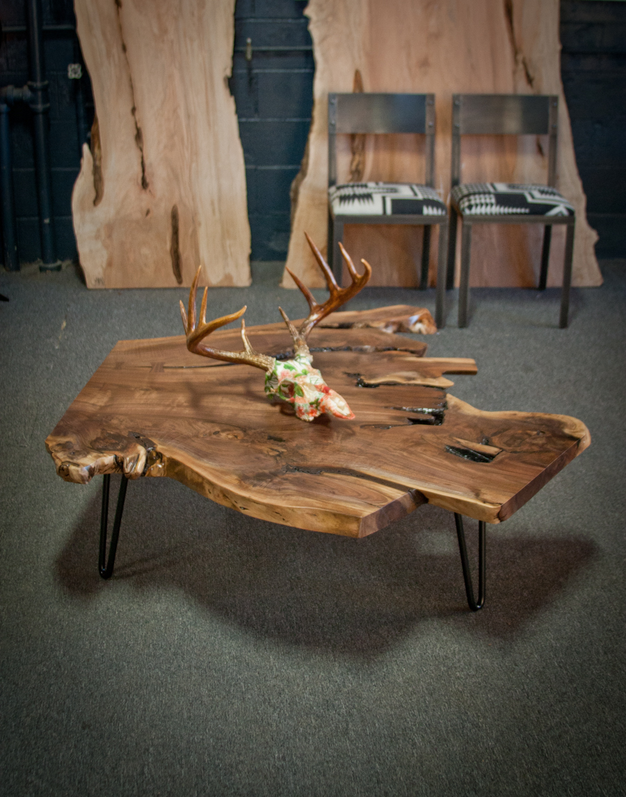 Superieur NATURAL EDGE COFFEE TABLE