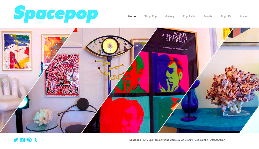 SPACEPOP GALLERY    Press Release     Spacepop art and design gallery in Berkeley, California needed a Press Release to kick off their Grand Opening Celebration. The style of the piece needed to appeal to the art community with a free-spirited, artistic message.   download