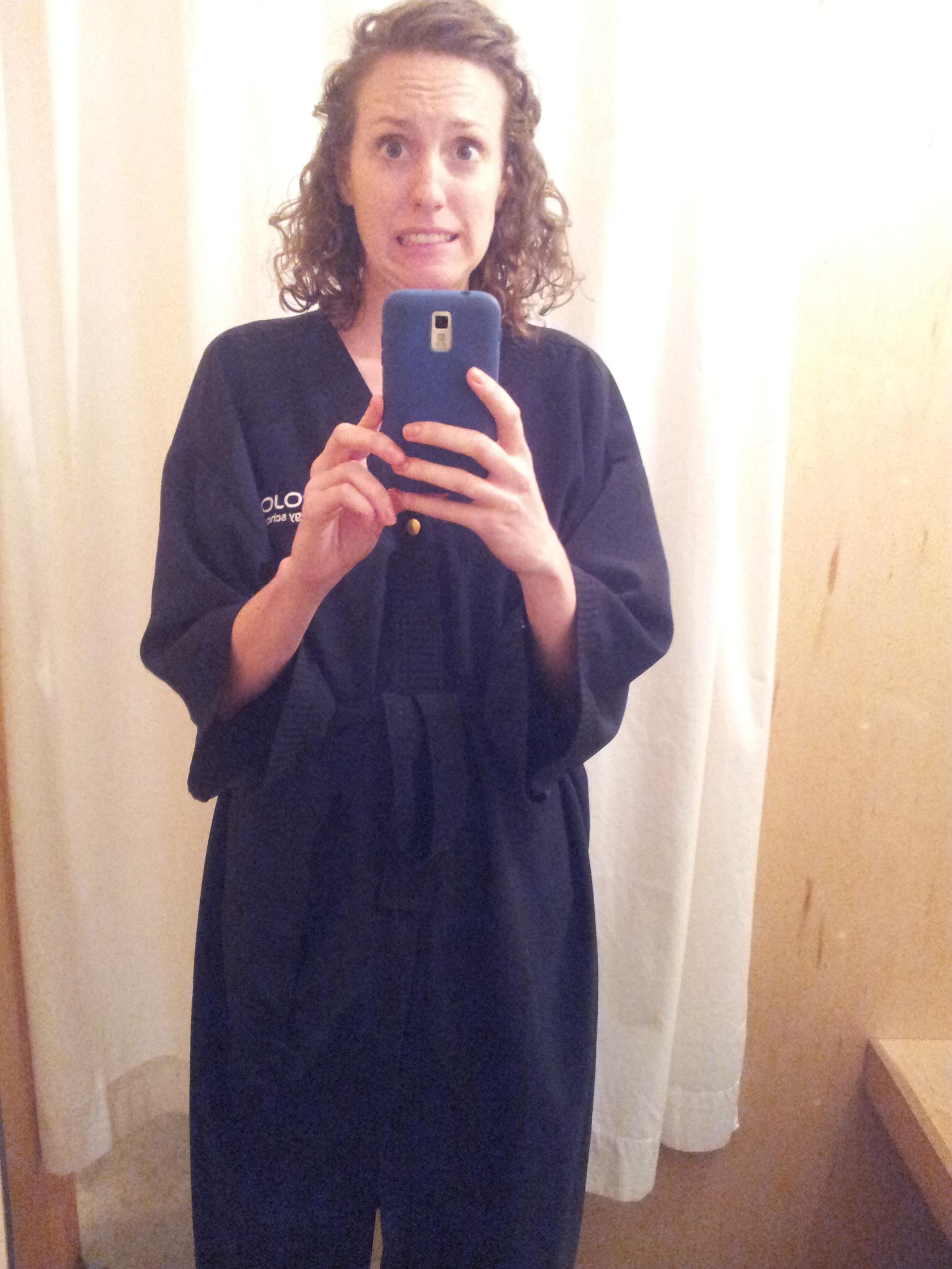 haircut robe