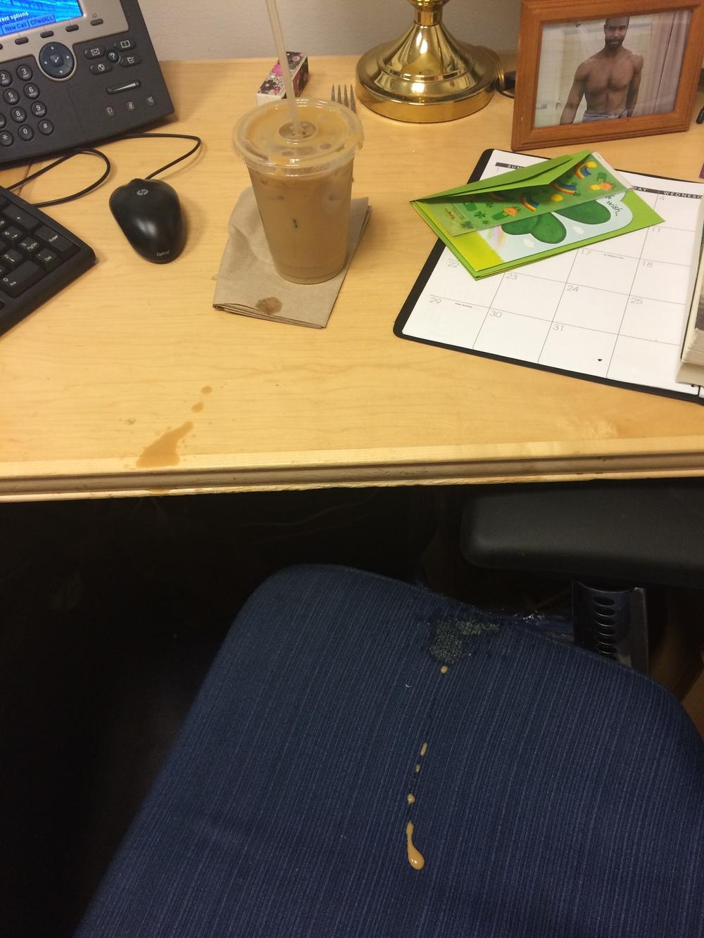 iced coffee fail