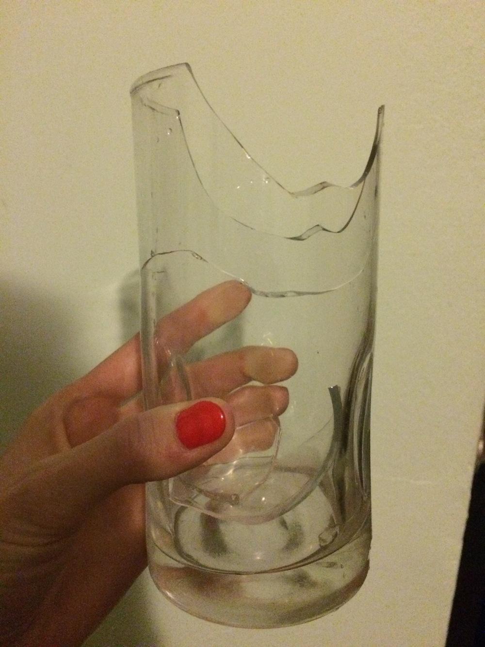 rip glass!