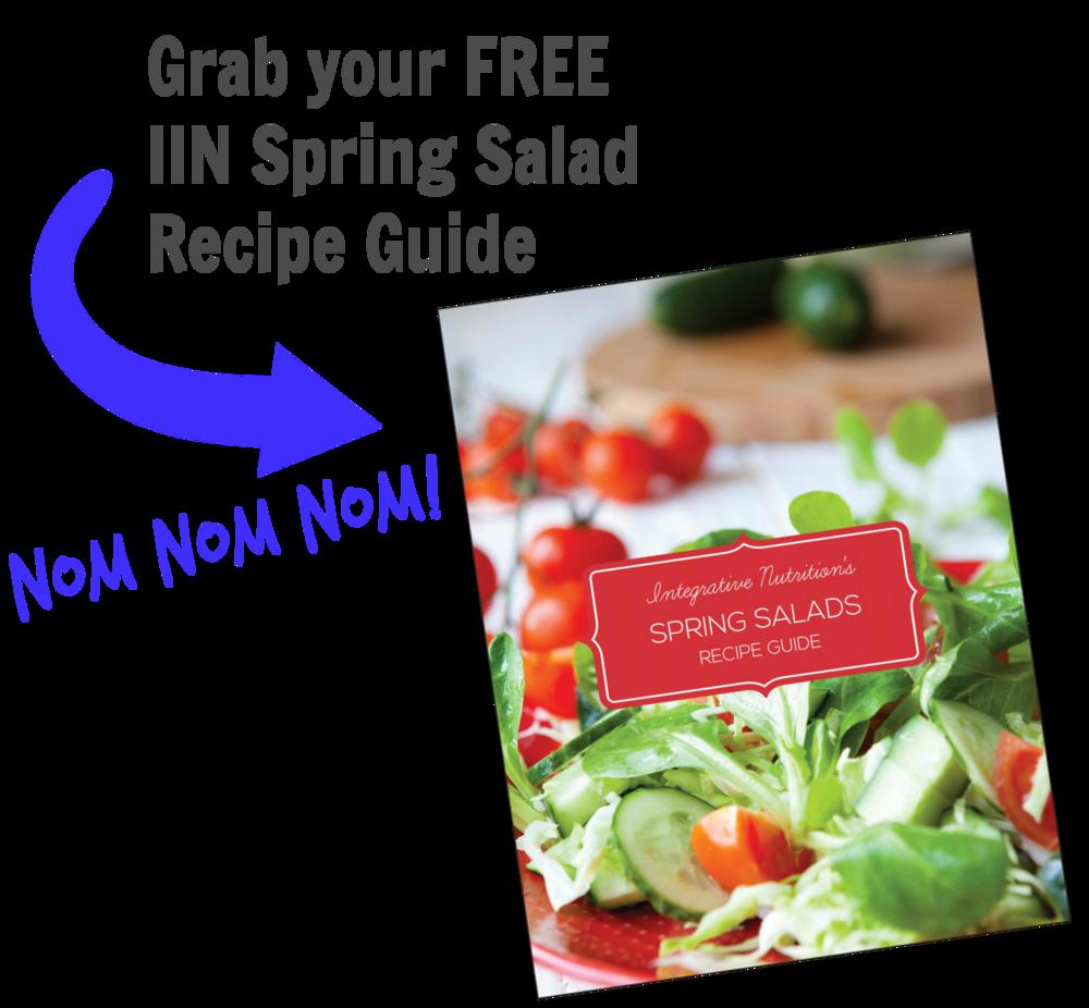 spring salad guide
