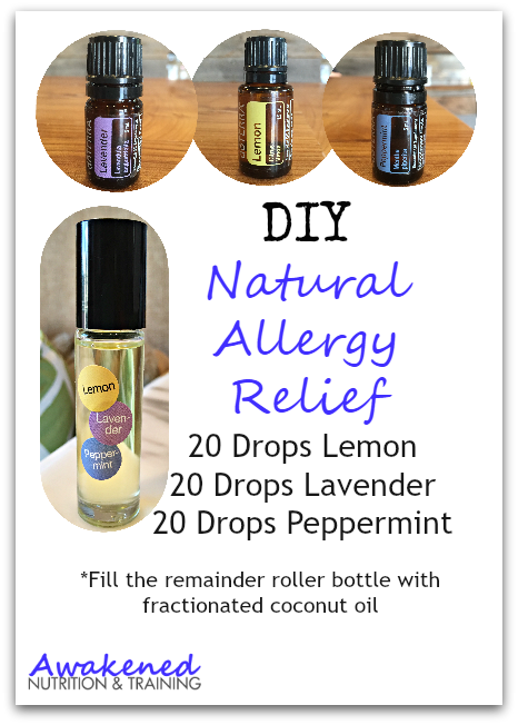 DIY Natural Allergy Relief Rollerball Remedy For The Whole Family Using Only 4 Ingredients via @exsoycise